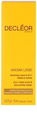 Decléor Aroma Lisse krema za predel okoli oči proti gubam, zabuhlosti in temnim kolobarjem 3
