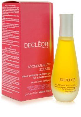 Decléor Aromessence Solaire sérum ativador  para estimular bronzeado 2