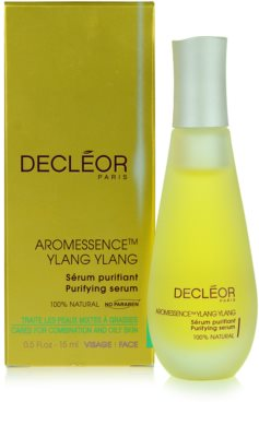 Decléor Aromessence Ylang ylang serum oczyszczające do skóry twarzy do skóry tłustej i mieszanej 1
