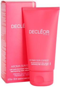 Decléor Aroma Sun Expert samoopalovací tělové mléko 2