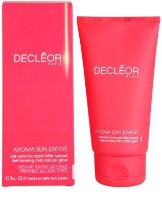 Decléor Aroma Sun Expert samoopalovací tělové mléko 3
