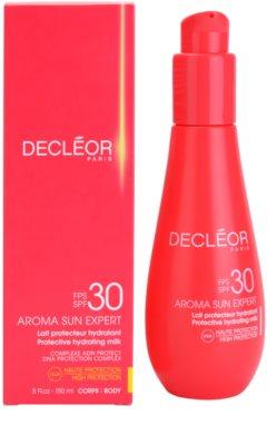 Decléor Aroma Sun Expert hydratisierende Sonnenmilch SPF 30 1