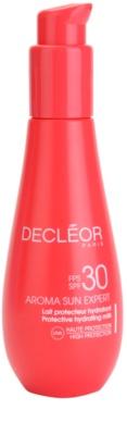 Decléor Aroma Sun Expert leite after sun hidratante  SPF 30