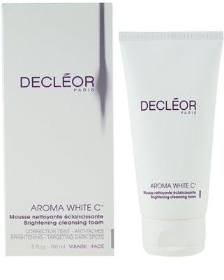 Decléor Aroma White C+ aufhellender Reinigungsschaum 1