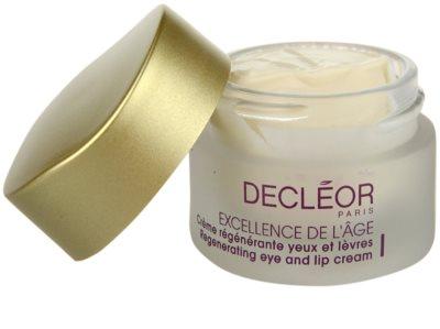Decléor Excellence de L´Âge Anti-Âge Global przeciwzmarszczkowy krem pod oczy  do skóry dojrzałej 1