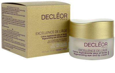 Decléor Excellence de L´Âge Anti-Âge Global przeciwzmarszczkowy krem pod oczy  do skóry dojrzałej 2