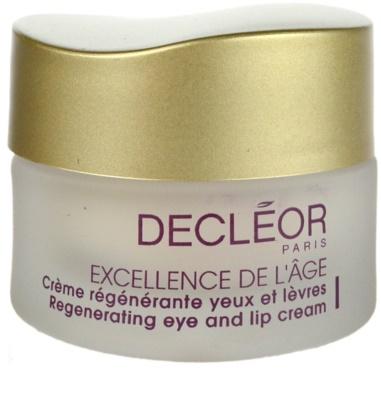 Decléor Excellence de L´Âge Anti-Âge Global Augencreme gegen Falten für reife Haut