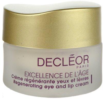 Decléor Excellence de L´Âge Anti-Âge Global crema antiarrugas contorno de ojos para pieles maduras