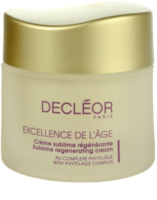 Decléor Excellence de L´Âge Anti-Âge Global Anti - Wrinkle Day Cream For Mature Skin