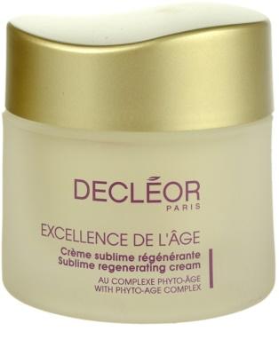 Decléor Excellence de L´Âge Anti-Âge Global Tagescreme gegen Falten für reife Haut