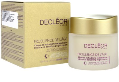 Decléor Excellence de L´Âge Anti-Âge Global crema de noche antiarrugas  para pieles maduras 2