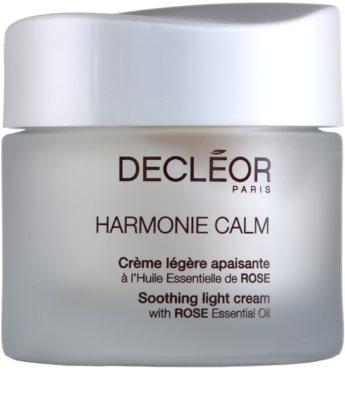 Decléor Harmonie Calm creme calmante leve para pele sensível