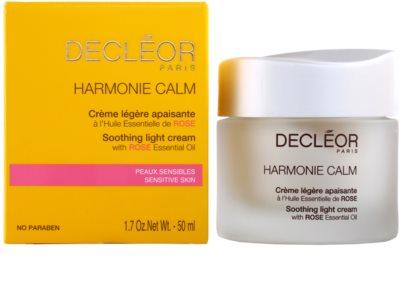 Decléor Harmonie Calm creme calmante leve para pele sensível 1