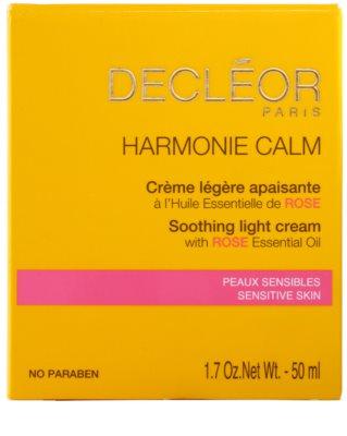 Decléor Harmonie Calm creme calmante leve para pele sensível 2