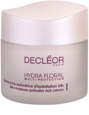 Decléor Hydra Floral збагачений зволожуючий крем для нормальної та сухої шкіри