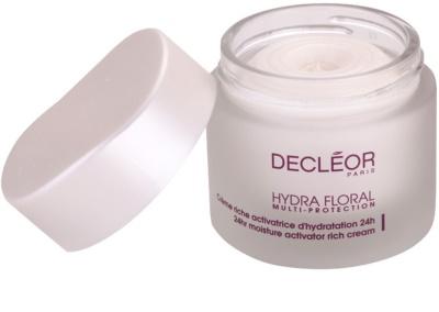 Decléor Hydra Floral creme rico hidratante para pele normal e seca 1