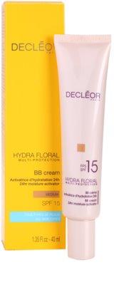 Decléor Hydra Floral hidratáló hatású BB krém SPF 15 1