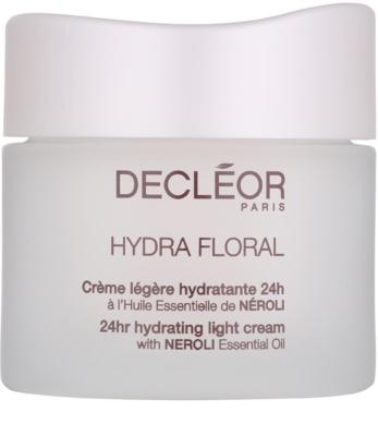 Decléor Hydra Floral зволожуючий крем для нормальної та змішаної шкіри