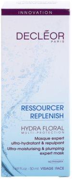 Decléor Hydra Floral máscara hidratante intensiva 3