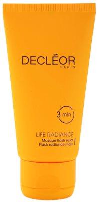 Decléor Life Radiance masca iluminatoare pentru toate tipurile de ten