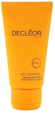 Decléor Life Radiance maska za posvetlitev za vse tipe kože