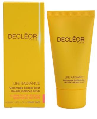 Decléor Life Radiance скраб для сяючої шкіри 1