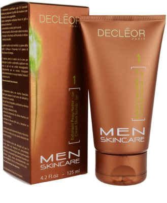 Decléor Men Skincare почистващ пилинг 1