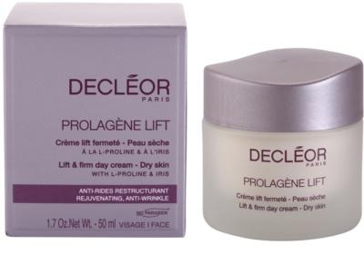 Decléor Prolagene Lift krem wygładzający do skóry suchej 3