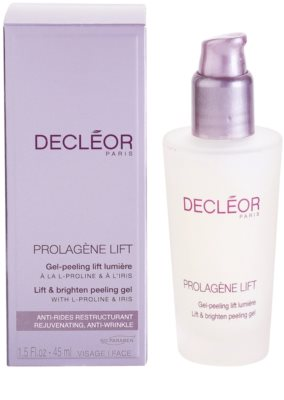 Decléor Prolagene Lift gel esfoliante alisador para pele normal 1