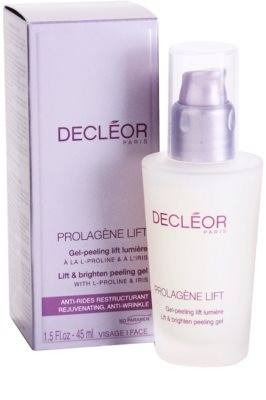 Decléor Prolagene Lift gel esfoliante alisador para pele normal 2