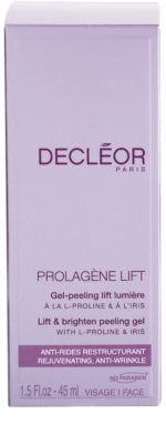 Decléor Prolagene Lift gel esfoliante alisador para pele normal 3