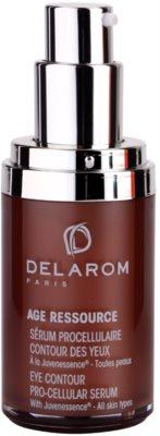Delarom Anti Ageing Pro-Cellular serum para contorno de ojos con Juvenessence 1