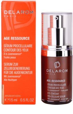 Delarom Anti Ageing Pro-Cellular serum para contorno de ojos con Juvenessence 2