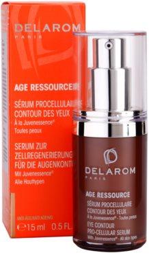 Delarom Anti Ageing Pro-Cellular serum para contorno de ojos con Juvenessence 3