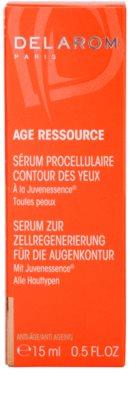 Delarom Anti Ageing Pro-Cellular serum para contorno de ojos con Juvenessence 4