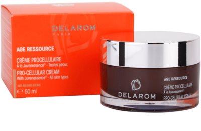 Delarom Anti Ageing Pro-Cellular crema con Juvenessence 3