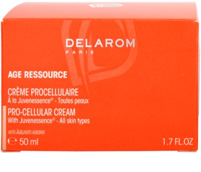 Delarom Anti Ageing Pro-Cellular crema con Juvenessence 4