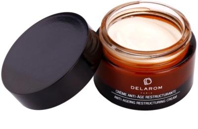 Delarom Anti Ageing възстановяващ крем против бръчки с органично арганово олио 1