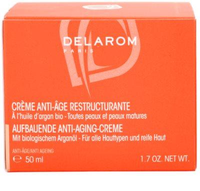 Delarom Anti Ageing възстановяващ крем против бръчки с органично арганово олио 4