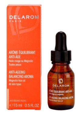 Delarom Anti Ageing óleo facial anti-envelhecimento com aroma de flor de magnólia 1