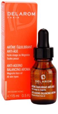 Delarom Anti Ageing óleo facial anti-envelhecimento com aroma de flor de magnólia 2