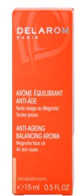 Delarom Anti Ageing óleo facial anti-envelhecimento com aroma de flor de magnólia 3