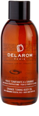 Delarom Body Care aceite de naranja corporal con color