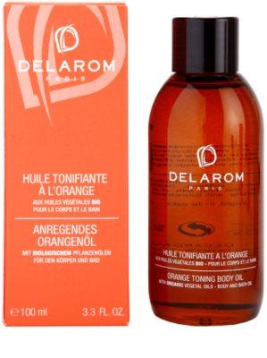 Delarom Body Care pomarančový tónovací telový olej 1