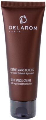 Delarom Body Care creme suave de mãos com manteiga de damasco