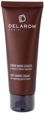 Delarom Body Care ніжний крем для рук з абрикосовим маслом