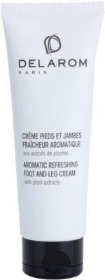 Delarom Body Care ароматичний освіжаючий крем для ніг з рослинними екстрактами