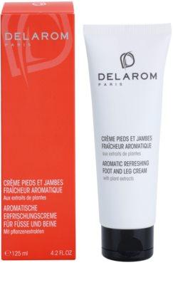 Delarom Body Care aromatische und erfrischende Creme für die Füße mit Pflanzenextrakten 1