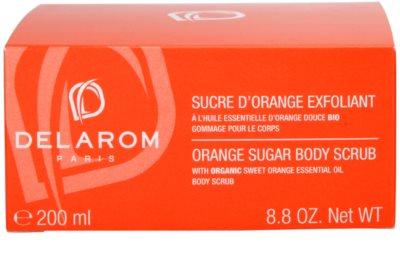 Delarom Body Care pomarančový telový peeling 4