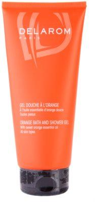 Delarom Body Care gel de laranja para banho e duche